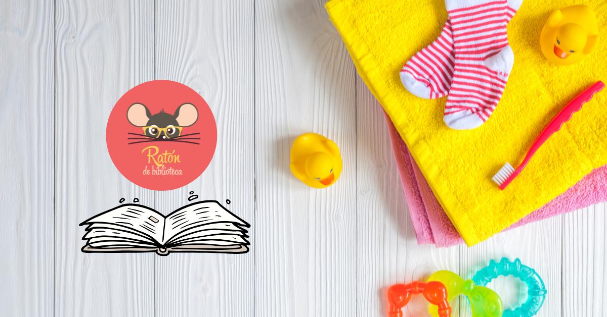 La bañera es otro espacio inolvidable para leer y experimentar diferentes sensaciones, para compartir y crear historias junto al bebé.