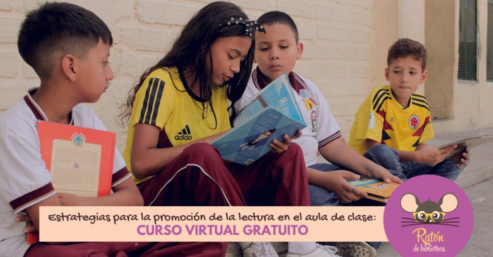 ¿Cómo enamorar a los niños de la lectura en la escuela? Apréndelo en este curso virtual gratuito.