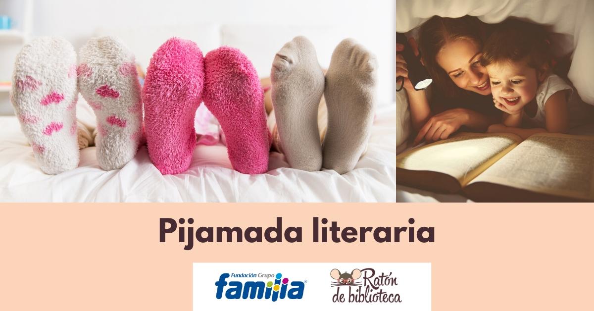 Cómo hacer una pijamada literaria familiar