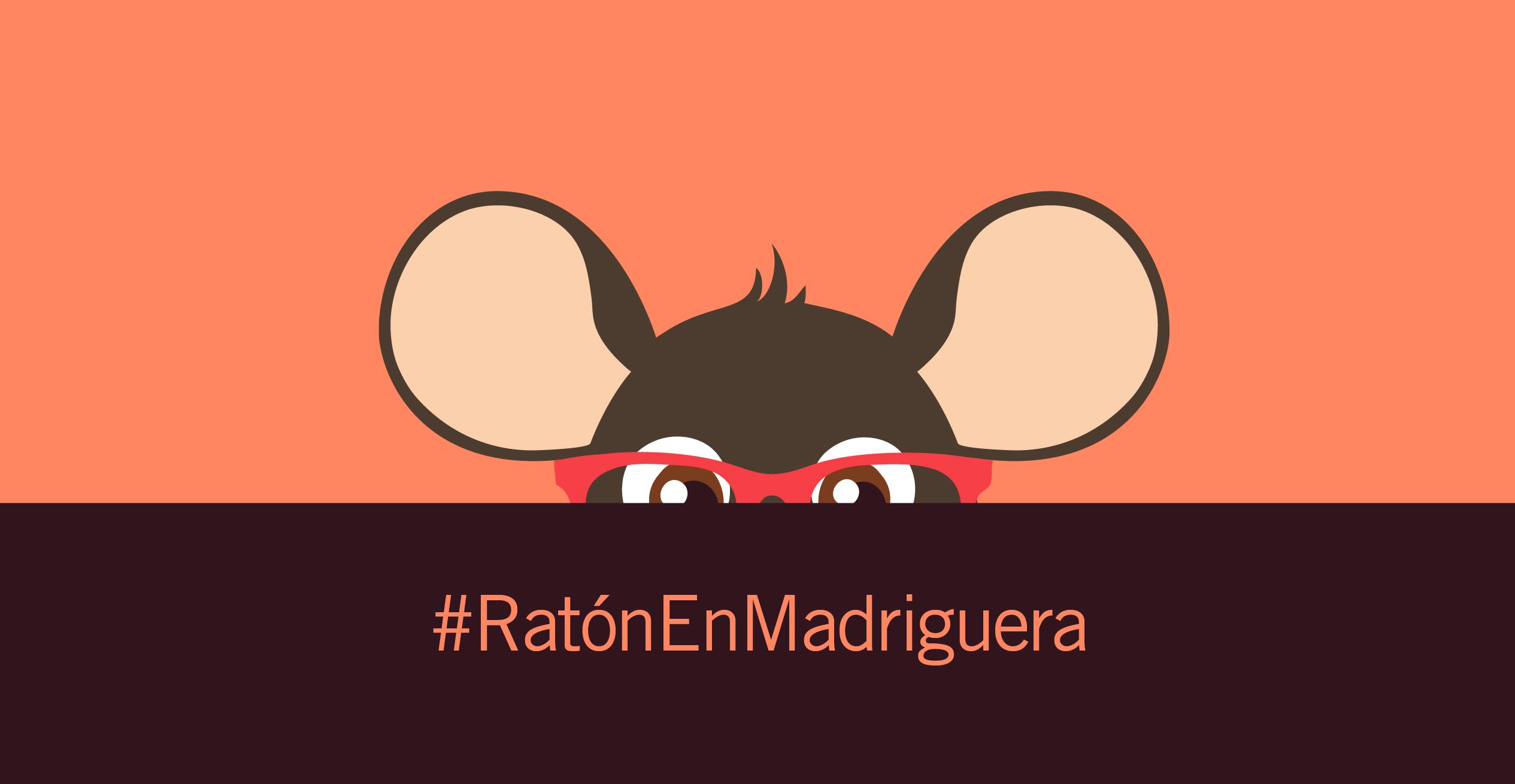 Ratón en Madriguera