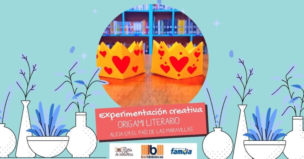 Origami literario: Alicia en el país de las maravillas